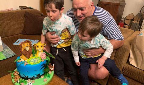 Премиерът пак пусна снимка с внуците