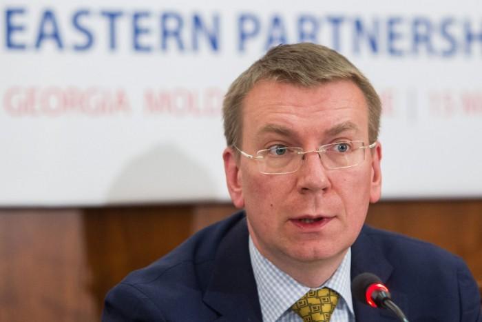 Едгарс Ринкевичс заяви, че въпросът за преразглеждане на санкциите не е обсъждан. Снимка БГНЕС
