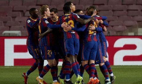 Меси и Гризман донесоха пети пореден успех на Барселона