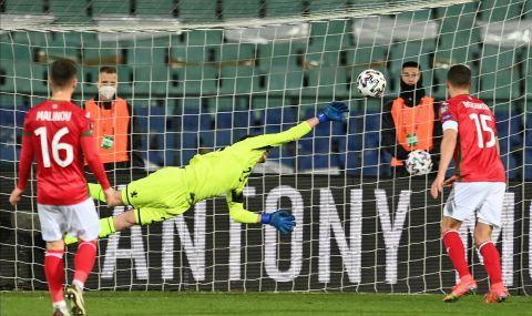 България записа първа точка в световните квалификации