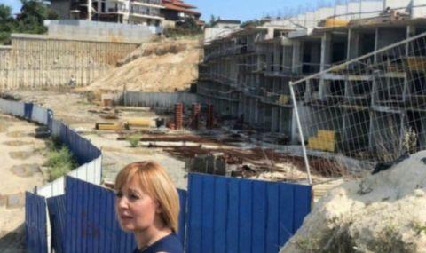 Манолова за строежа на Алепу: Това безобразие трябва да бъде отстранено!