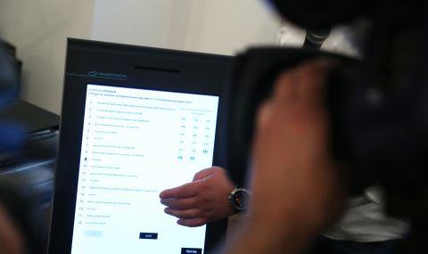 ЦИК ще купи още 1500 машини за парламентарните избори на 11 юли