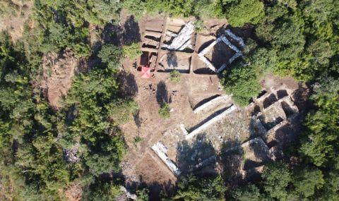 Богат късноантичен град върху древно светилище на Аполон разкриват на Балък дере