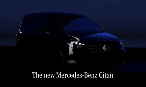 """Mercedes ще представи електрическа """"баничарка"""" на 25 август"""