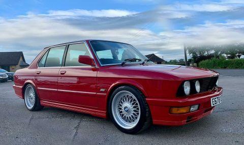 Под капака на това BMW 5 Series се крие двигател от… Mercedes