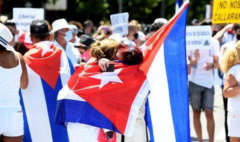"""Протестите в Куба: """"Властите се страхуват от нас"""""""
